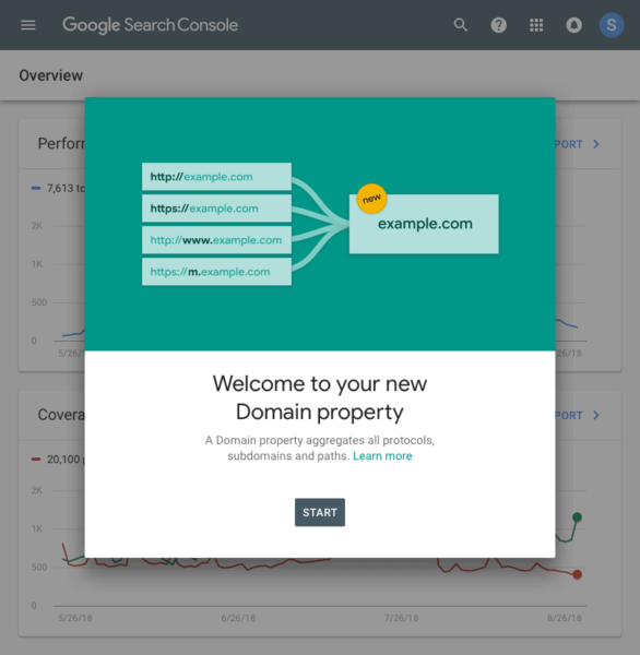 Google Search Console Changes